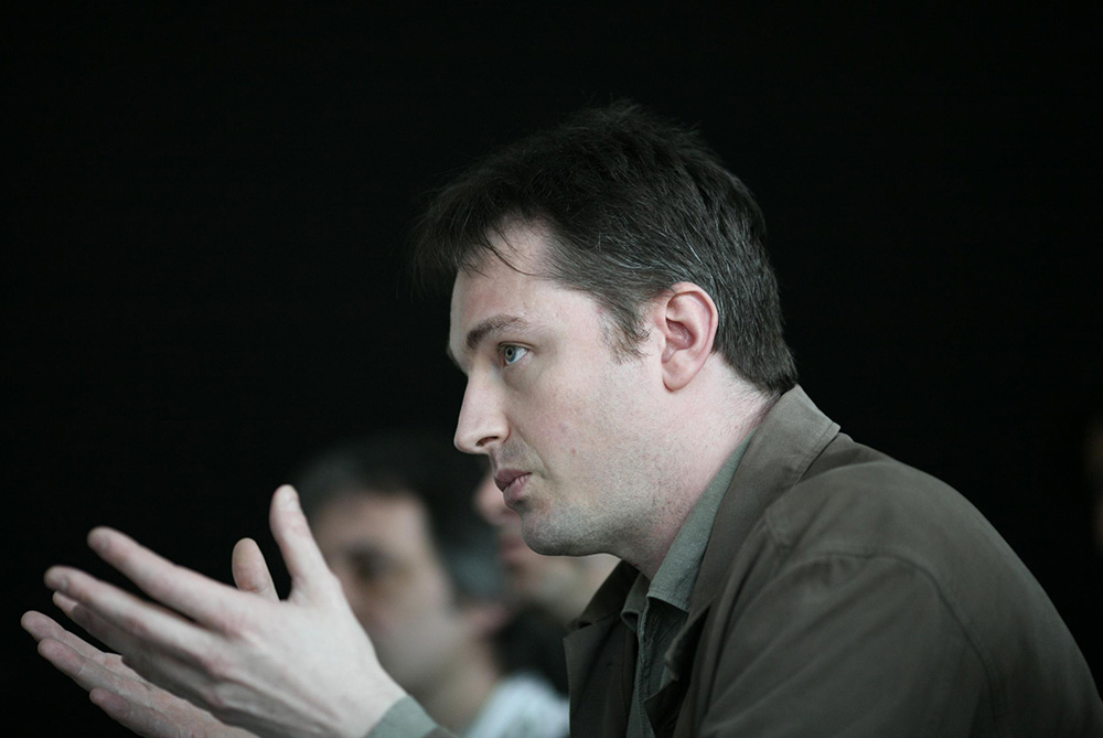 Urbanomic Events: Speculative Realism, Goldsmiths, London, 27 April 2007 - Quentin Meillassoux (photo: Peter Hallward)