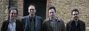Urbanomic Events: Speculative Realism, Goldsmiths, London, 27 April 2007 - Iain Hamilton Grant, Graham Harman, Quentin Meillassoux, Ray Brassier (photo: Peter Hallward)