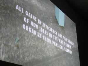 Urbanomic Events: Amanda Beech, Image-Force, 16 May 2009, Urbanomic Studio, Falmouth