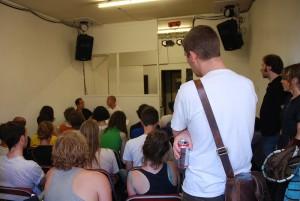 Urbanomic Events: Florian Hecker, Sound Out of Line, 27 June 2009, Urbanomic Studio, Falmouth