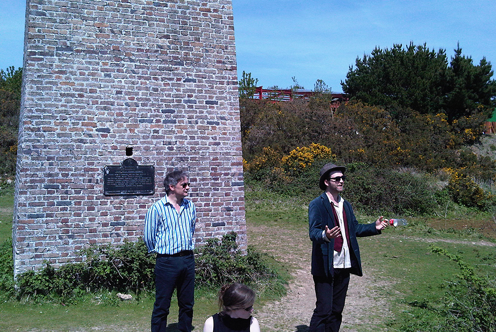 Urbanomic Events: Hydroplutonic Kernow, 21 May 2010 - Iain Hamilton Grant and Shaun Lewin