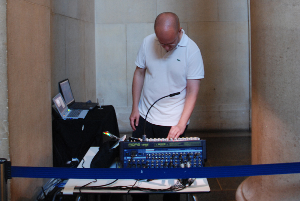 Urbanomic Events: The Real Thing, 3 September 2010, Tate Britain, London - performance of 'Speculative Solution' by Florian Hecker