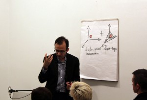 Urbanomic Events: Reza Negarestani, Abducting the Outside: Modernity and the Culture of Acceleration, New York, 18 November 2012