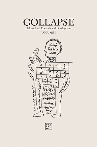 'Collapse volume 1: Numerical Materialism', published by Urbanomic