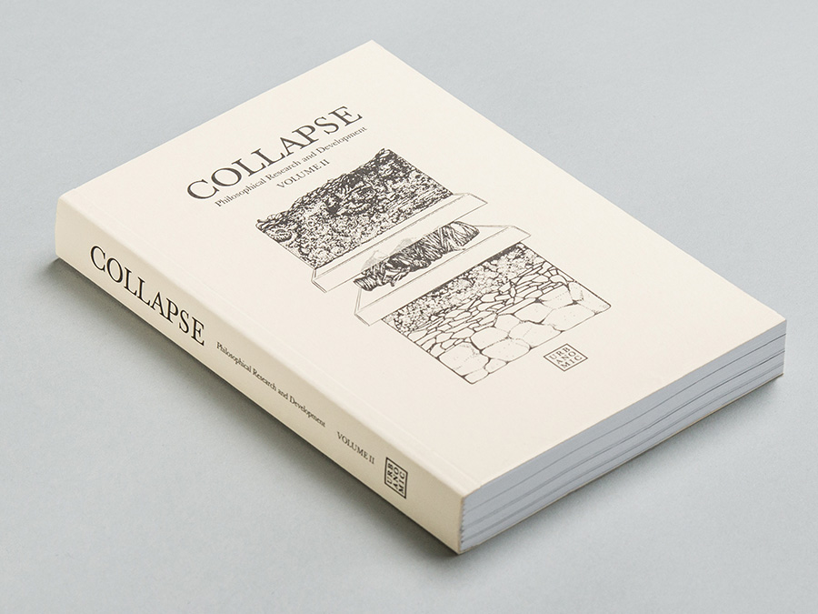 'Collapse volume 2: Speculative Realism', published by Urbanomic
