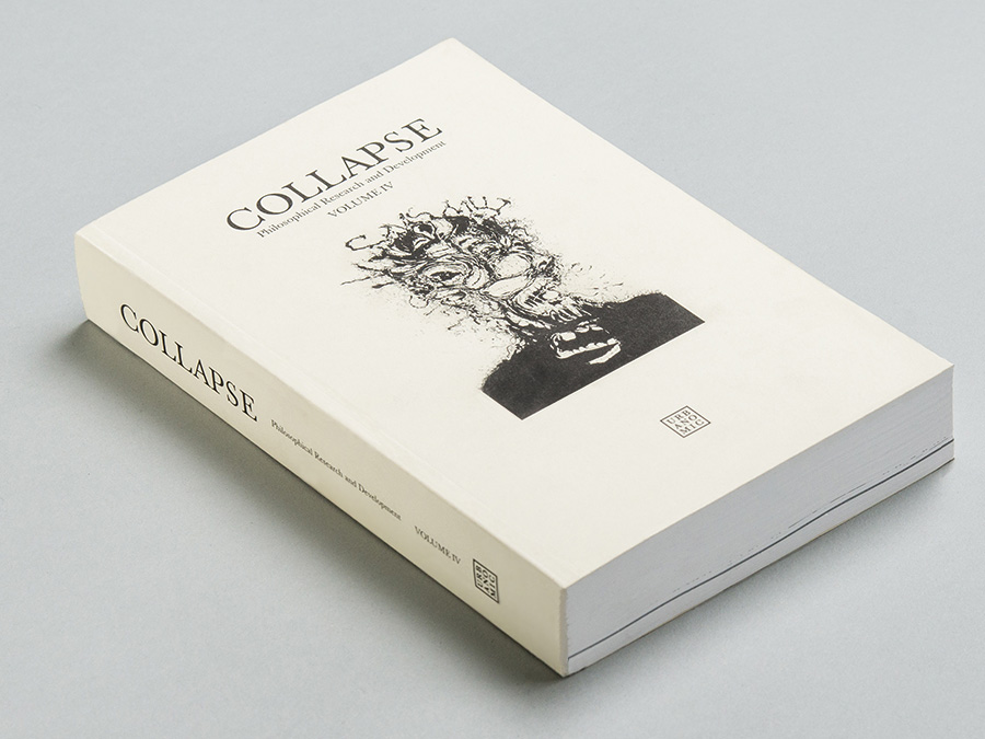 'Collapse volume 4: Concept-Horror', published by Urbanomic