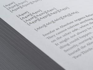 Nick Land, 'Fanged Noumena', published by Urbanomic (detail)