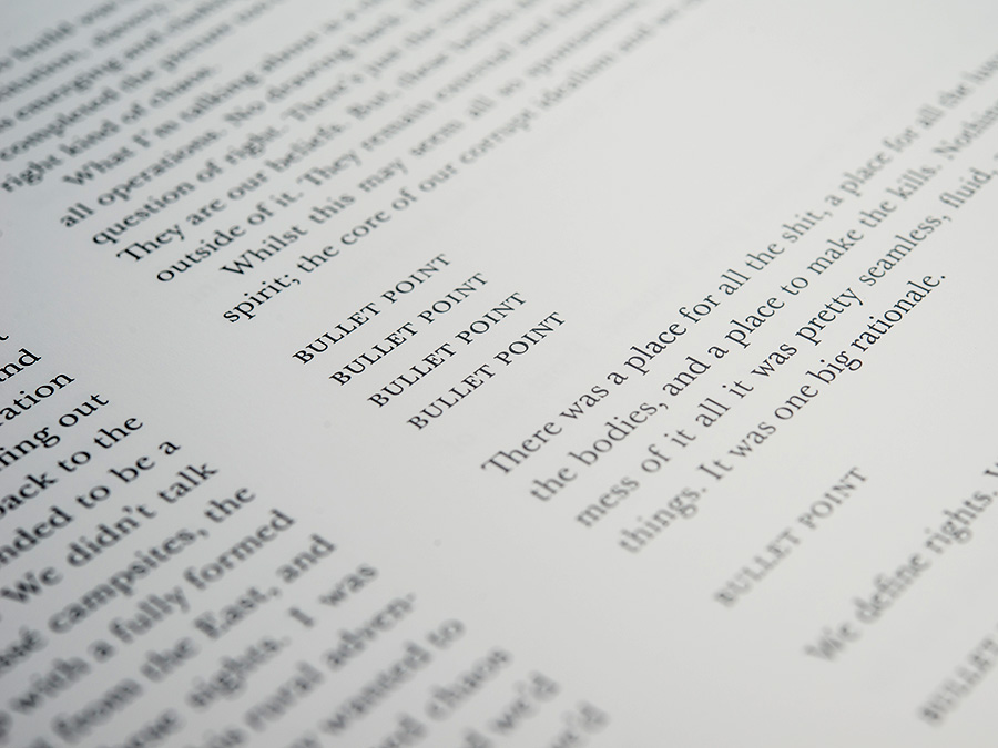 Amanda Beech, 'Final Machine', published by Urbanomic (detail)