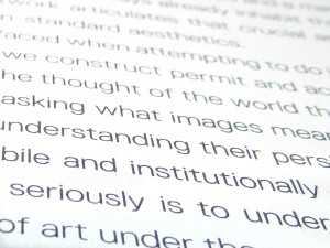 'Speculative Aesthetics', published by Urbanomic (detail)