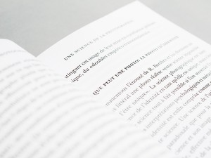 François Laruelle, 'The Concept of Non-Photography', published by Urbanomic and Sequence Press (detail)