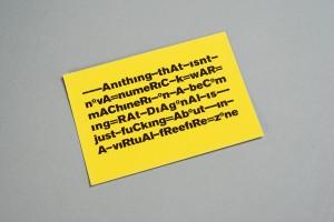 Urbanomic: Fanged Noumena Card