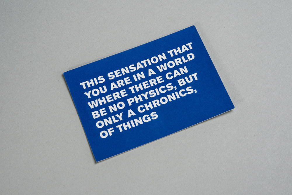 Urbanomic: Speculative Solution Card (1 of 2)