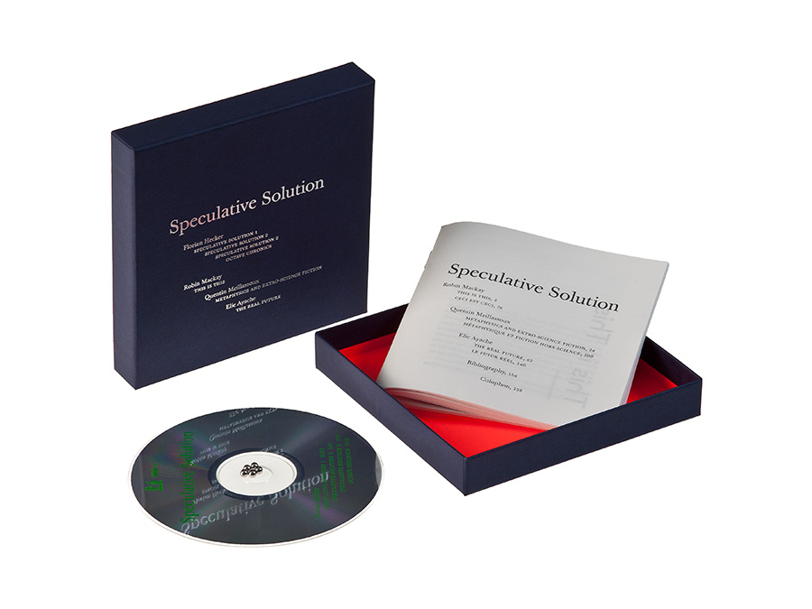 Florian Hecker, 'Speculative Solution', CD Box by Editions Mego with Urbanomic