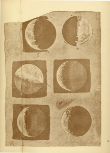Galileo's drawings of the moon, Sidereus Nuncius, 1610